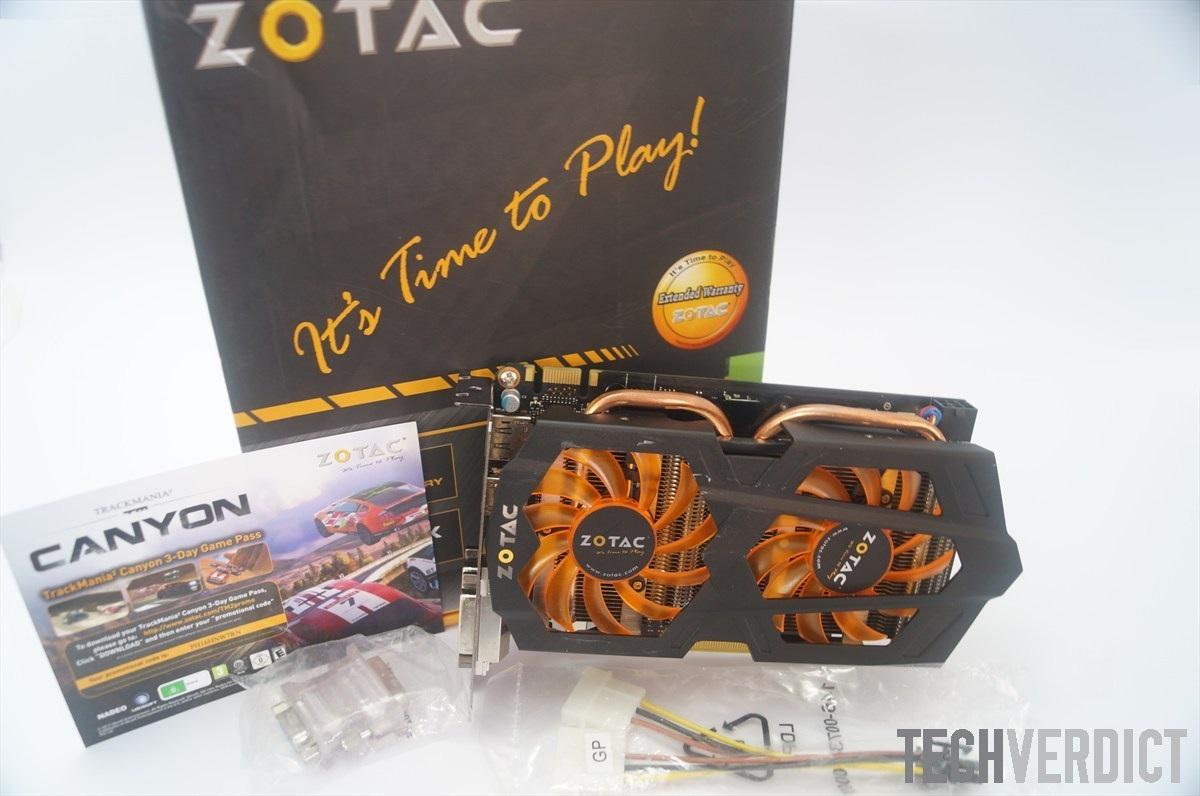 Zotac gtx 660 package