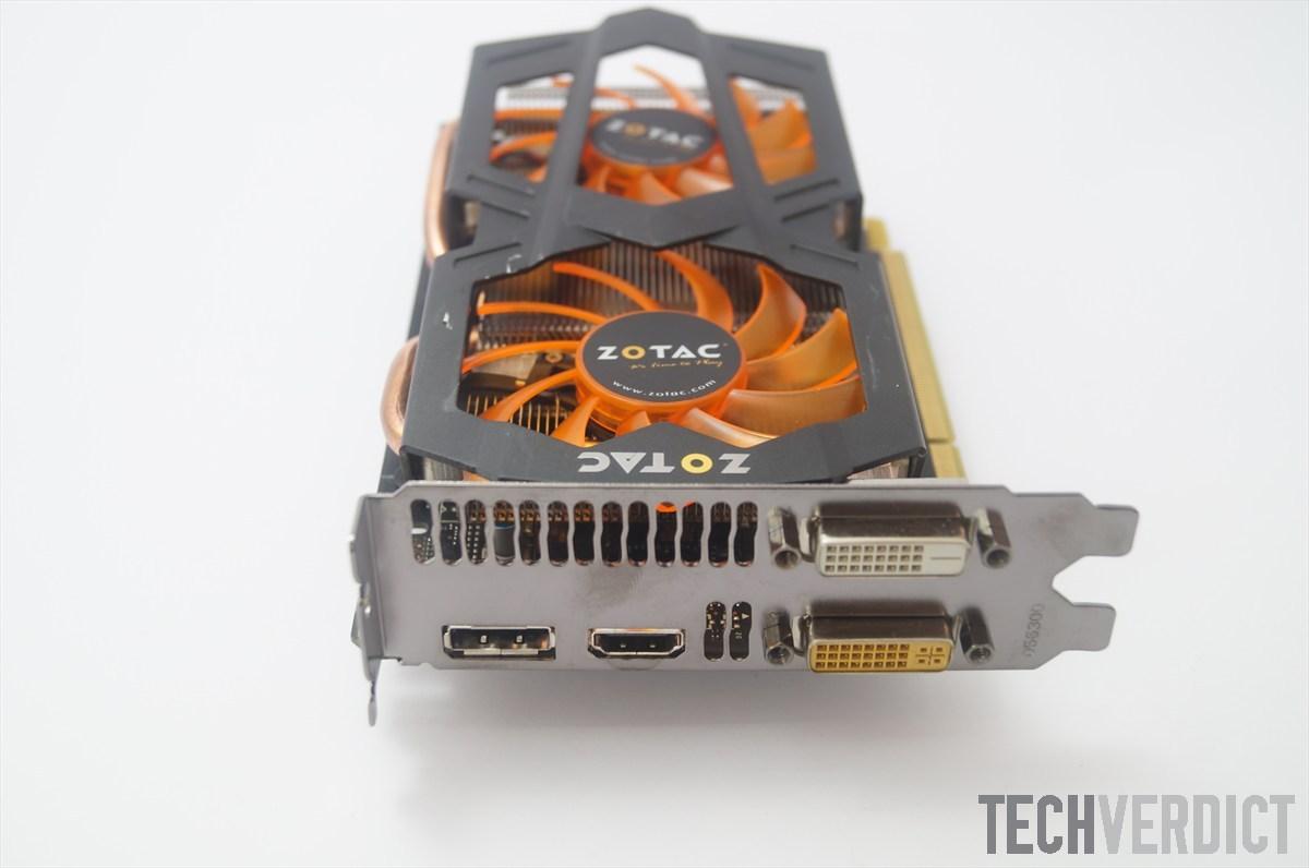Zotac GTX 660 outputs