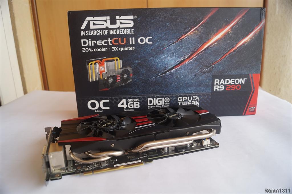 Asus R9 290 DirectCu II OC graphics card
